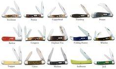 Some Pocket Knife Patterns