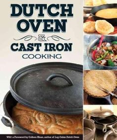 Dutch Oven and Cast Iron Cooking - No matter where you cook, cast iron can do it all! Rediscover what our grandparents always knew: cast iron cookware produces mouthwatering food that practically slides out of the pan. Cast Iron Dutch Oven, Cast Iron Cooking, Oven Cooking, Cooking Tips, Iron Skillet Recipes, Cast Iron Recipes, Skillet Cooking, Dutch Oven Camping, Camping Meals