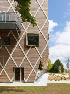 City Council House by Guinée & Potin Architectes - Quimper, France