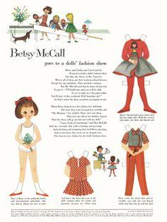 ♥ (ू•ᴗ•ू❁)                                                              ✄This Is Betsy McCall