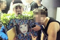 Outrage at clubber pictured in Madeleine McCann fancy dress outfit.