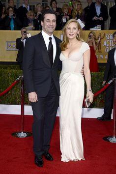 Jon Hamm y Jennifer Westfeldt.