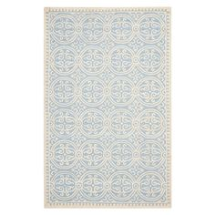 Featuring a chevron motif and pastel tones, this hand-tufted wool rug adds texture and elegance to your home. Featuring plush and loop textures, it's perfect...