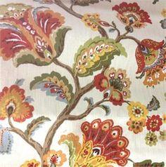 Granada Fiesta Floral Fabric;