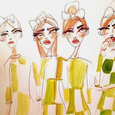 We're obsessed: Blair Breitenstein's illustrations | Fitzroy Boutique