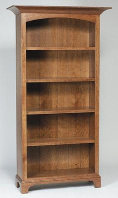 Amish Home Office New Bedford Shaker Bookcases   Amish Bookcases 45154