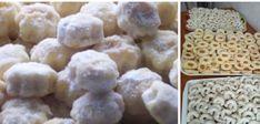 Ingredience 250 g másla250 g hl. mouky250 g tvarohušpetka soli1 van. cukr1 žloutektroška mleté skořice Postup přípravy Vše zpracovat a nechat v chladničce odpočinout cca 2 hodinky.Potom na malinko pomoučeném vále vyválet placku silnou asi 3 mm a Krispie Treats, Rice Krispies, Waffles, Cheese, Cookies, Breakfast, Food, Basket, Crack Crackers
