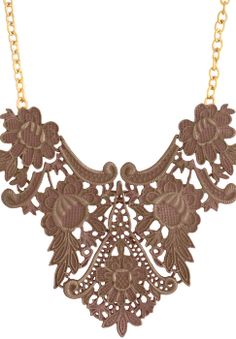 Trending antique, victorian and chic princess-style-necklaces  via @Roposo