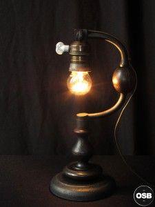 Lampe Tractor creation unique Chignole 11