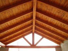 cielo razo con madera - Ecosia