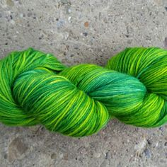 Newly listed: A mix between a yellow-green and blueish-Green tonal called Grasshopper