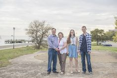 Spring sunset family pictures | Fort Monroe, Hampton, Virginia