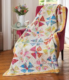 Today's Quilter Flower Power quilt