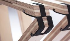 63 Degrees Folding Bench : A Minimalist Expandable Bench by Angelina Barks…