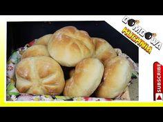JAK PRZYGOTOWAĆ PYSZNE DOMOWE KAJZERKI - PRZEPIS KROK PO KROKU - BOMBOWA KUCHNIA - YouTube Bread, Make It Yourself, Food, Youtube, Brot, Essen, Baking, Meals, Breads