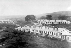 The Miners Houses at Craigmark East Ayrshire in the late - - Uk History, Local History, West Coast Scotland, Coal Miners, Time Pictures, Genealogy, Old Photos, Croatia, Brave
