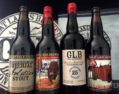 Four Imperial Stouts from Great Lakes Brewery - Feb 2016