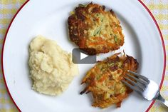 Quick veggie fritters