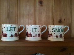 Emma Bridgewater Christmas Town Personalised Baby Mugs (Emma Bridgewater Official Facebook Page)
