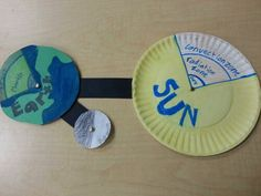 Sun, Earth and Moon model!