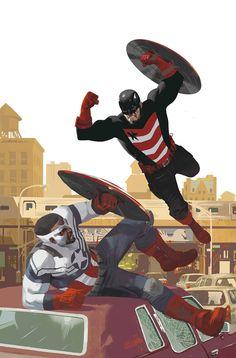 CAPTAIN AMERICA SAM WILSON #13 Capitán América vs USAgent!  • No más de espera: #takebacktheshield