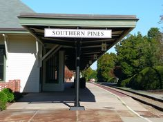 Southern Pines, NC Depot Canopy by army.arch, via Flickr