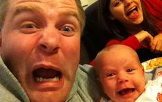 Father And Baby Daughter Take The Best Selfies Ever Father And Baby, Dad Baby, Father Daughter, Funny Baby Pictures, Funny Photos, Baby Selfie, Funny Selfie, Selfie Time, Best Selfies