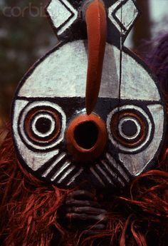 "Africa | A Bobo wears a ""Do"" mask in Burkina Faso. | Image and caption © Charles & Josette Lenars"