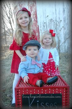 Easy Valentine's Day Kissing Booth!