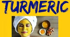 facemask with turmeric
