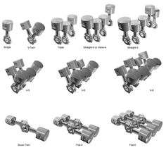 I notice we are missing a VERY important engine layout. VR6 Example engine piston layouts