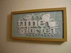 Samantha's Papercuts: Time for Tea