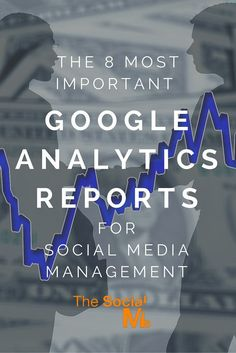 The 8 Most Important Google Analytics Reports For Social Media Management. Click on the image for more!