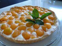 Ricetta Dessert : Crostata di melone da Titti