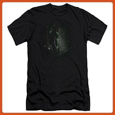 Arrow CW Superhero TV Series In The Shadows Adult Slim T-Shirt Tee - Superheroes shirts (*Partner-Link)