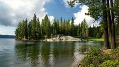 The place of the wedding. Summer time, gentle breeze, fresh mountain air and a beautiful lake to take a dip in when the heat amps up. Church of Shaver Lake. Shaver Lake, CA, USA