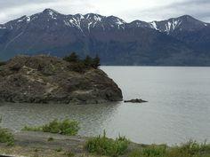 Anchorage, Alaska - drive along Beluga Point