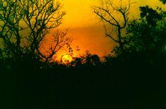 por do sol no quilombo _ Chapada dos Guimarães MT