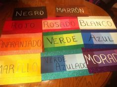 Made these signs for my room. Got paint samples from Home Depot and sparkly scrapbook paper from Michael's. I love them.