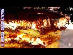Ευκολο Τιραμισου Συνταγη - Τιραμισου Mε Σαβαγιαρ Και Νουτελα - Σπιτικο Τιραμισου Χωρις Αυγα Tiramisu - YouTube Chocolate Sweets, Lasagna, Tiramisu, Quiche, Casserole, Ethnic Recipes, Desserts, Youtube, Food