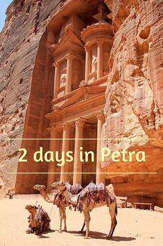 Visiting Petra in Jordan in 2 days. What to see in Petra? Where are off-the-beaten-path trails? How much does it cost and where to sleep? All in post!: