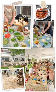Lorajean's Magazine,: Pirate Party {annual family reunion}