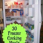 30 Freezer Cooking Meals