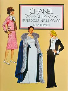The Fashion Doll Chronicles: Tom Tierney: the paper doll legend