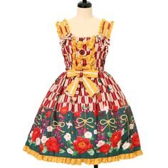 ♡ metamorphose ♡ Stylish Komachi jumper skirt http://www.wunderwelt.jp/products/detail12332.html ☆ ·.. · ° ☆ How to order ☆ ·.. · ° ☆ http://www.wunderwelt.jp/user_data/shoppingguide-eng ☆ ·.. · ☆ Japanese Vintage Lolita clothing shop Wunderwelt ☆ ·.. · ☆