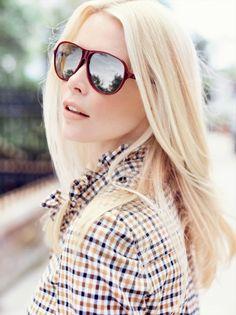 077ce27ab58 Claudia Schiffer Lands 2014 Rodenstock Eyewear Ads Mirrored Sunglasses