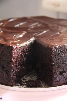 Inas verrückte kleine Welt: Saftiger Schokokuchen (vegan) Best Picture For Beauty Diy videos For Your Taste You are looking for something, and it is g Best Ever Chocolate Cake, Chocolate Desserts, Cake Chocolate, Baking Recipes, Cake Recipes, Dessert Recipes, Sweets Cake, Cupcake Cakes, Cupcakes