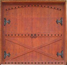 Beau Update Existing Garage Door With Decorative Hardaware