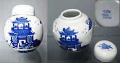 Stará čínská dóza na sypaný čaj r. 1970 Delft, Bronze, Jar, Home Decor, Decoration Home, Room Decor, Home Interior Design, Jars, Glass