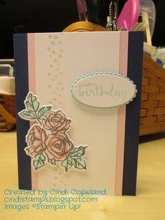 Cindi's Stamping Spot: SSC 169 & FMS 319 - Petal Palette Birthday